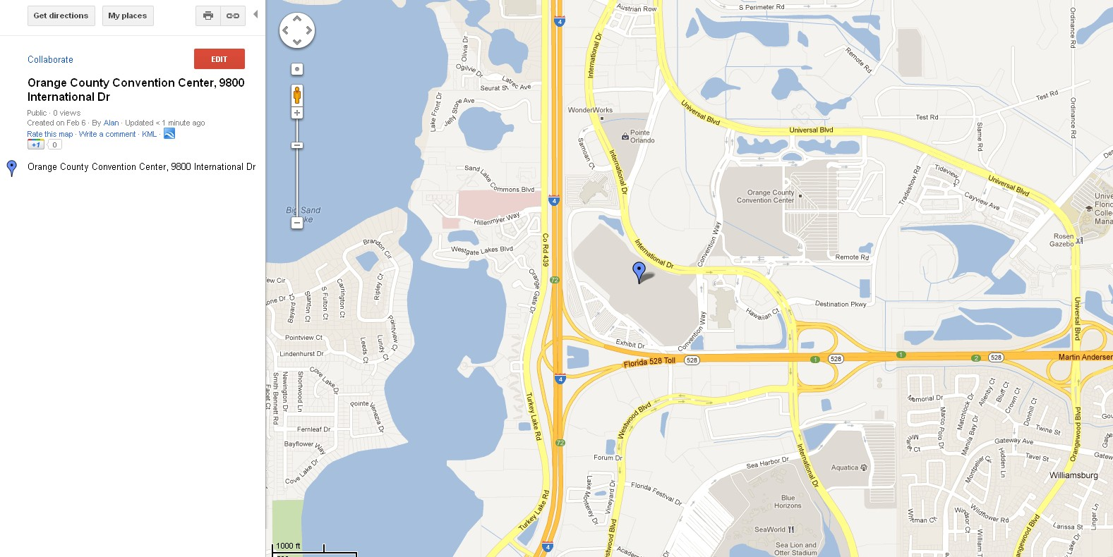 Summer FUN Convention Florida United Numismatists - Orange county convention center map